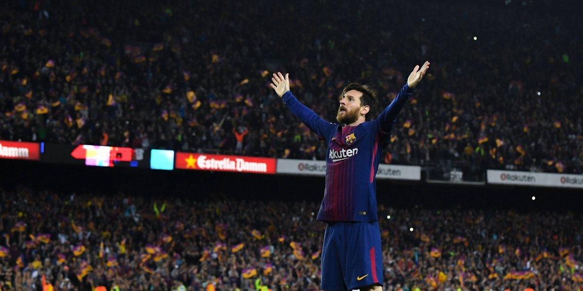 Messi intentará romper récord en la Supercopa ante Sevilla