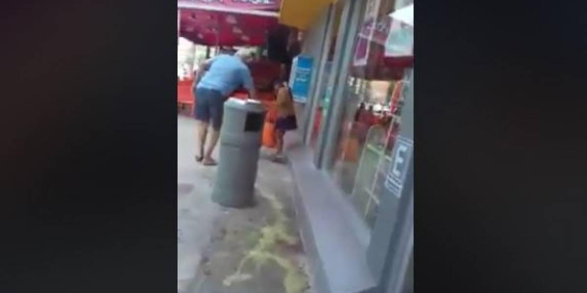 Hombre tira ácido para ahuyentar a niña en una tienda en Cancún