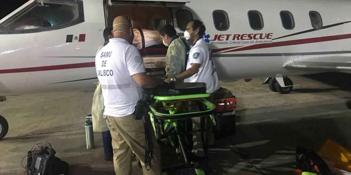 Regresa Elizabeth a Guadalajara para culminar su rehabilitación
