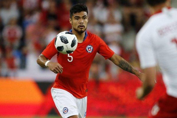 Paulo Díaz se quiere mostrar para jugar la Copa América con la Roja / imagen: Photosport