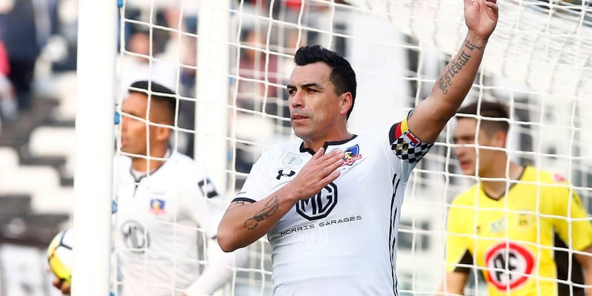 Presiona a la UC: Colo Colo cerró una semana redonda venciendo a San Luis en otra tarde inspirada de Paredes
