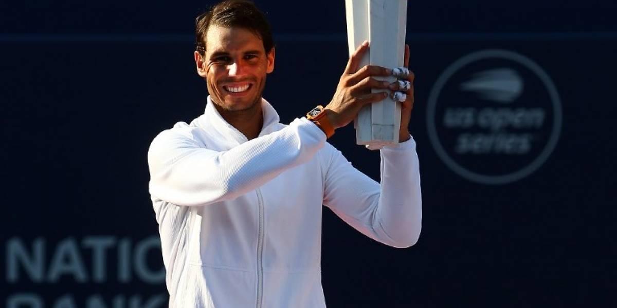 Rafael Nadal vence a Tsitsipas y gana el Masters 1000 de Toronto