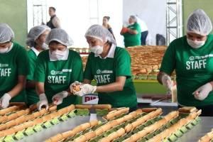 Récord de hot-dogs en México