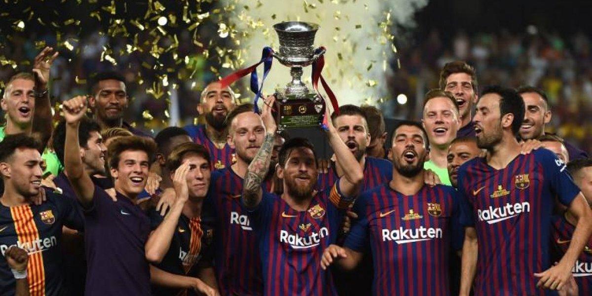¡El Barcelona se queda con la Supercopa de España!