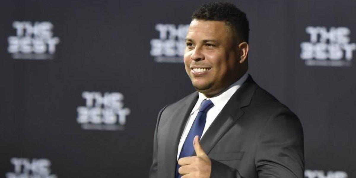Hospitalizan al histórico exfutbolista Ronaldo