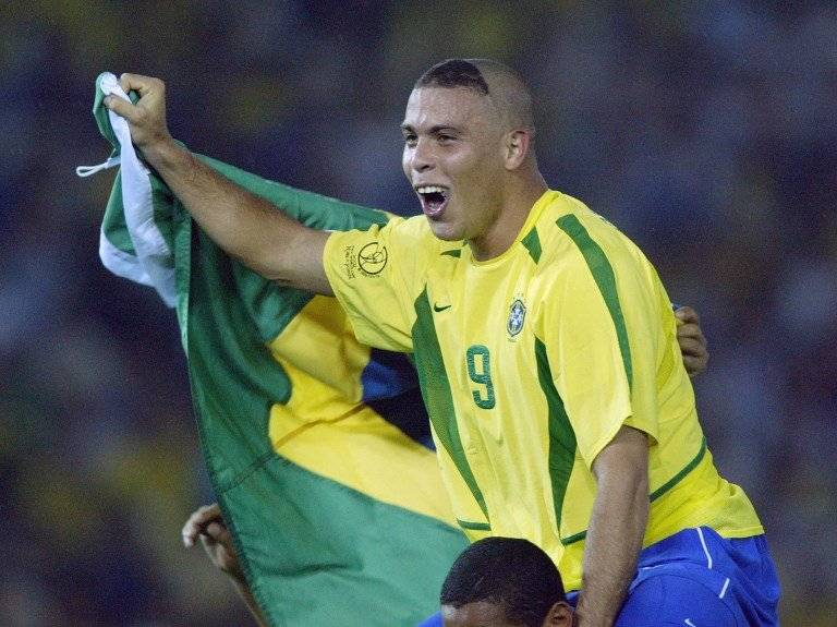 Ronaldo Nazário en 2002