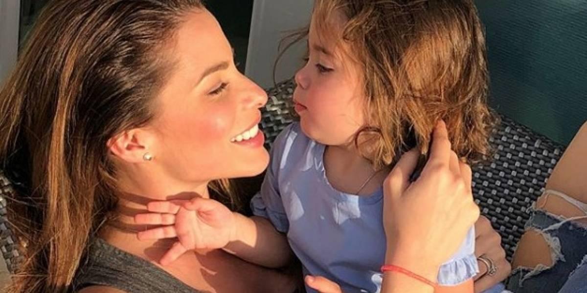 Viviana Ortiz comparte tierna foto con su hija