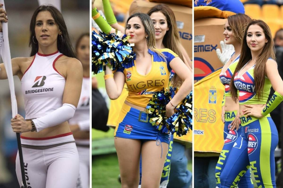 The girls of the day 4 of the Opening 2018 of the Liga MX