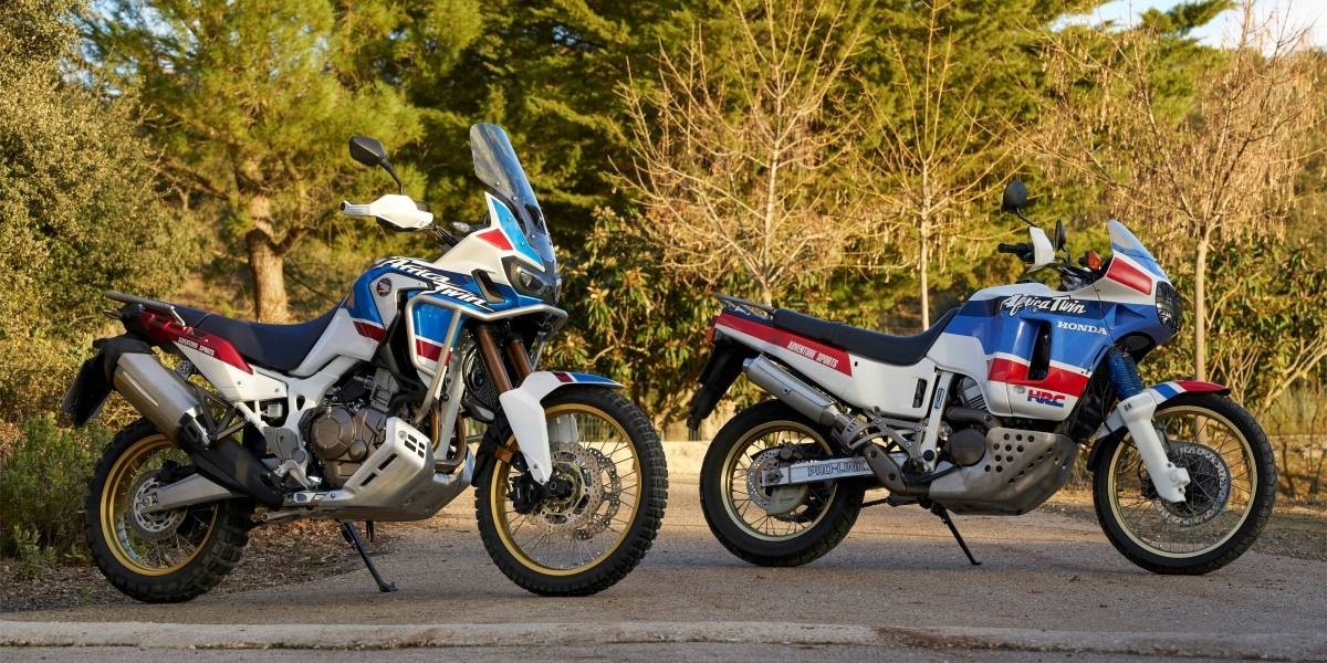 La Africa Twin de Honda conmemora sus primeros 30 años