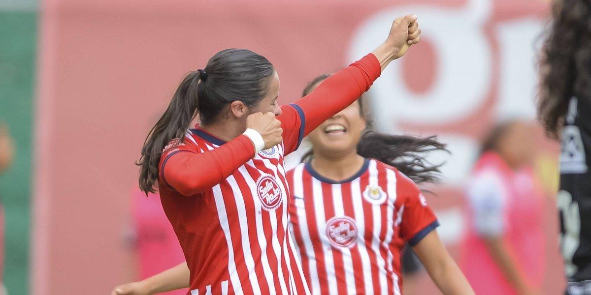 Chivas sigue invicto en la Liga MX Femenil