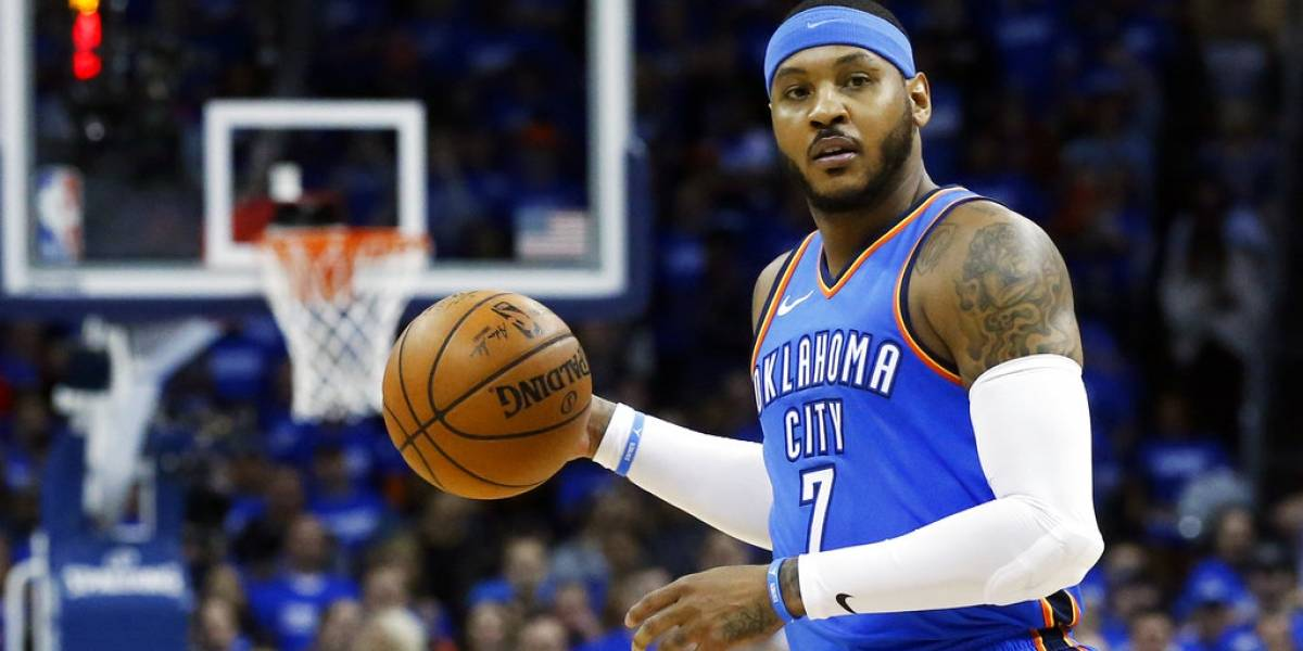 Carmelo Anthony se une a los Rockets de James Harden y Chris Paul