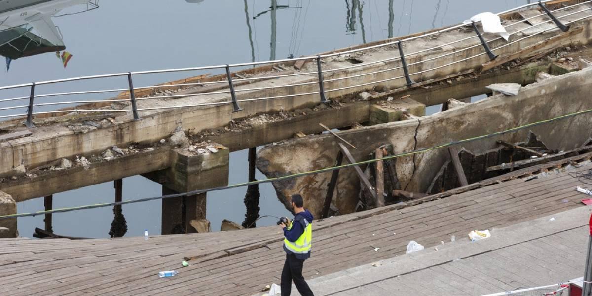 Más de 300 heridos tras colapsar paseo marítimo durante festival de música en España