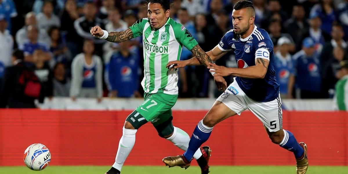 El fuerte 'vainazo' de Dayro Moreno contra Millonarios