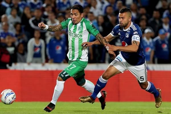 Dayro Moreno habló sobre el empate de Nacional contra Millonarios