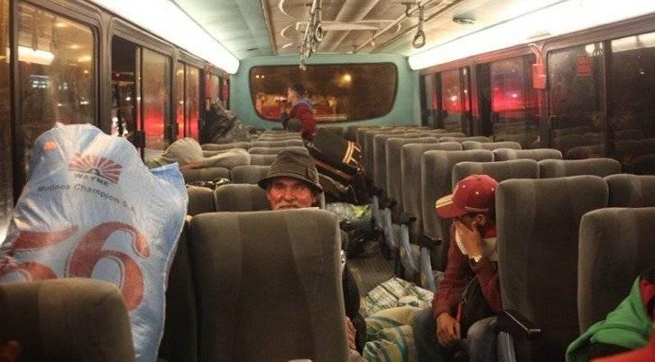 Traslado de Migrantes Venezolanos.