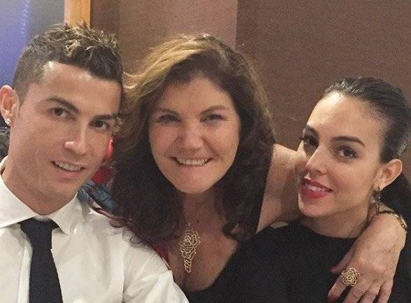 Madre de Cristiano, CR7 y Georgina Rodríguez Instagram