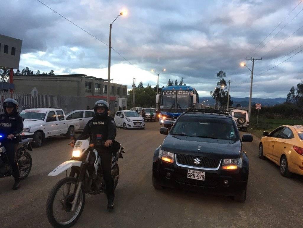 Cortesía Las carrozas mortuorias ya se encuentran camino a Guayaquil