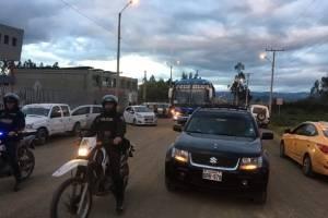 Las carrozas mortuorias ya se encuentran camino a Guayaquil