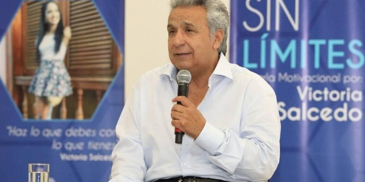 El presidente Lenín Moreno se pronunció sobre la situación de los migrantes venezolanos en Ecuador