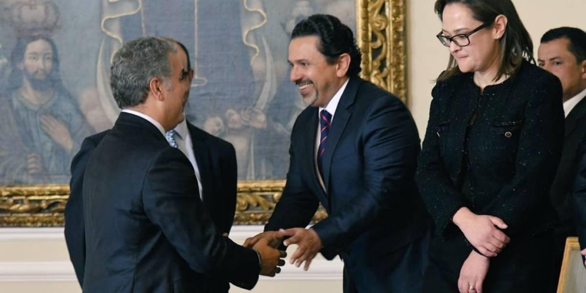 Miguel Ceballos es el nuevo alto comisionado de Paz