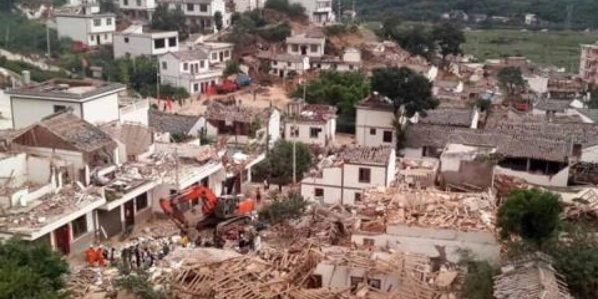 Sismo en China deja 18 heridos y 6 mil casas afectadas
