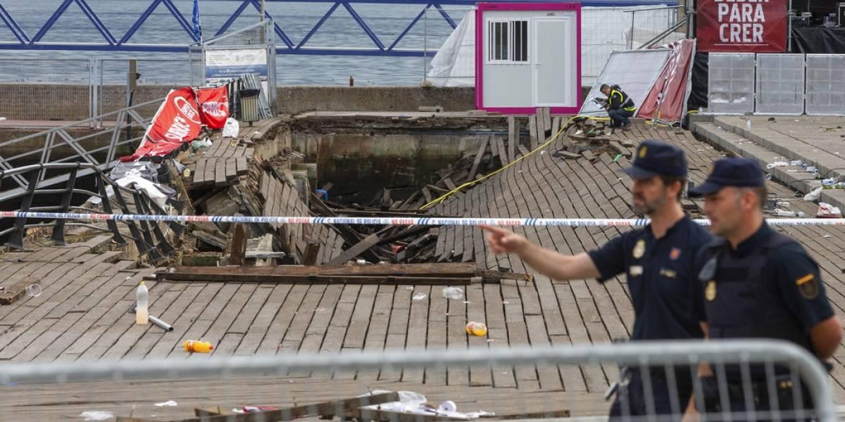 VIDEO. Más de 300 heridos tras colapso de paseo marítimo en España