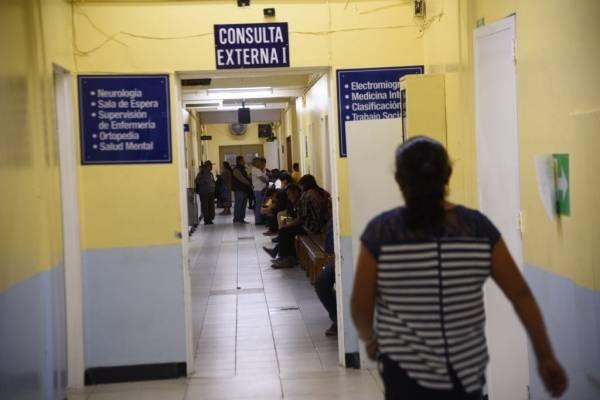 Consulta externa hospital Roosevelt