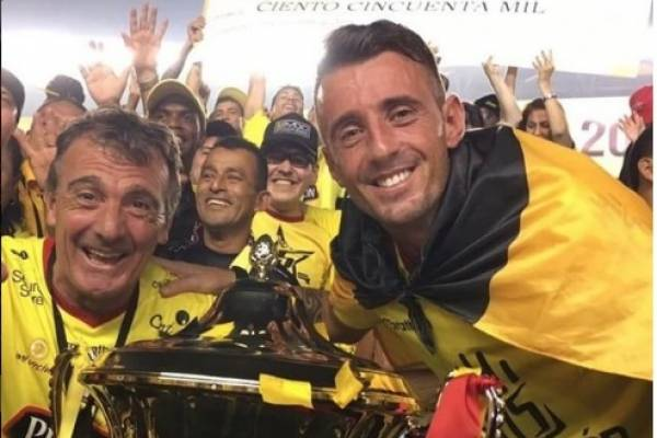 Damian Díaz envió mensaje a hinchas de Barcelona SC tras accidente