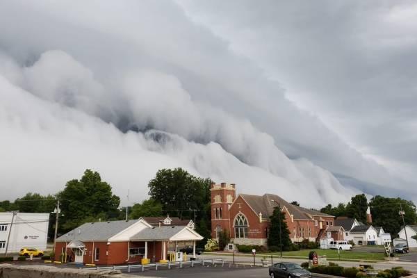 Tsunami de nubes Illinois