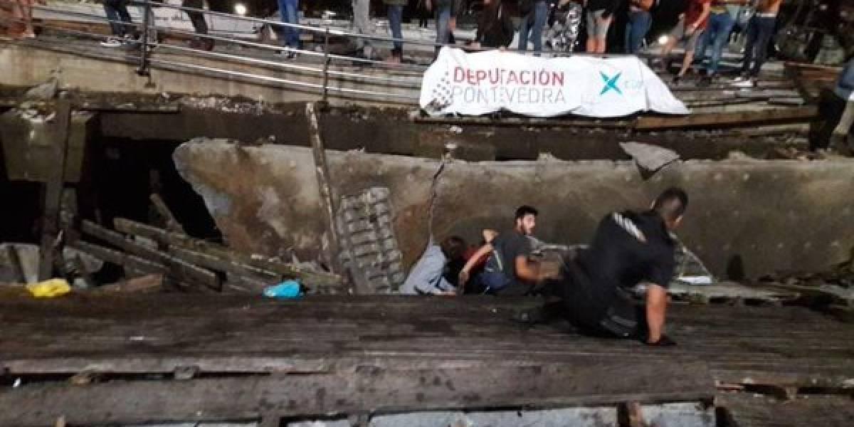 Desplome de muelle en festival de rap deja 300 heridos