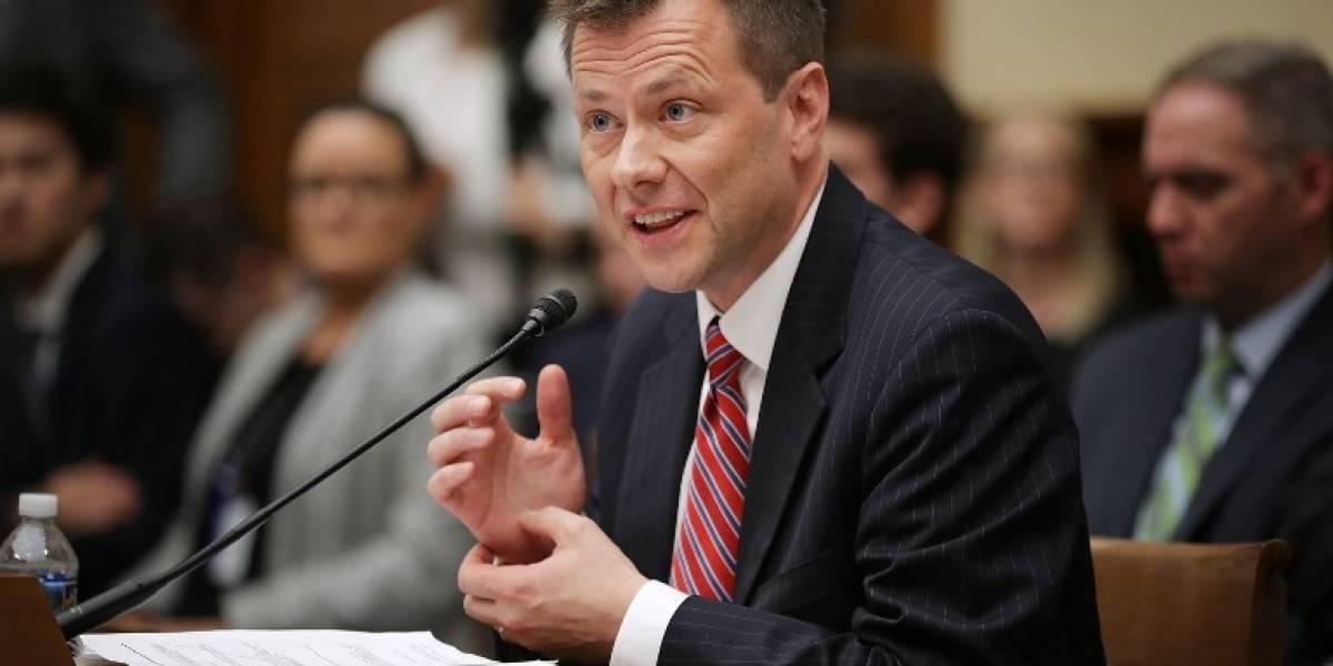 FBI despide a agente que intercambió mensajes de texto contra Trump