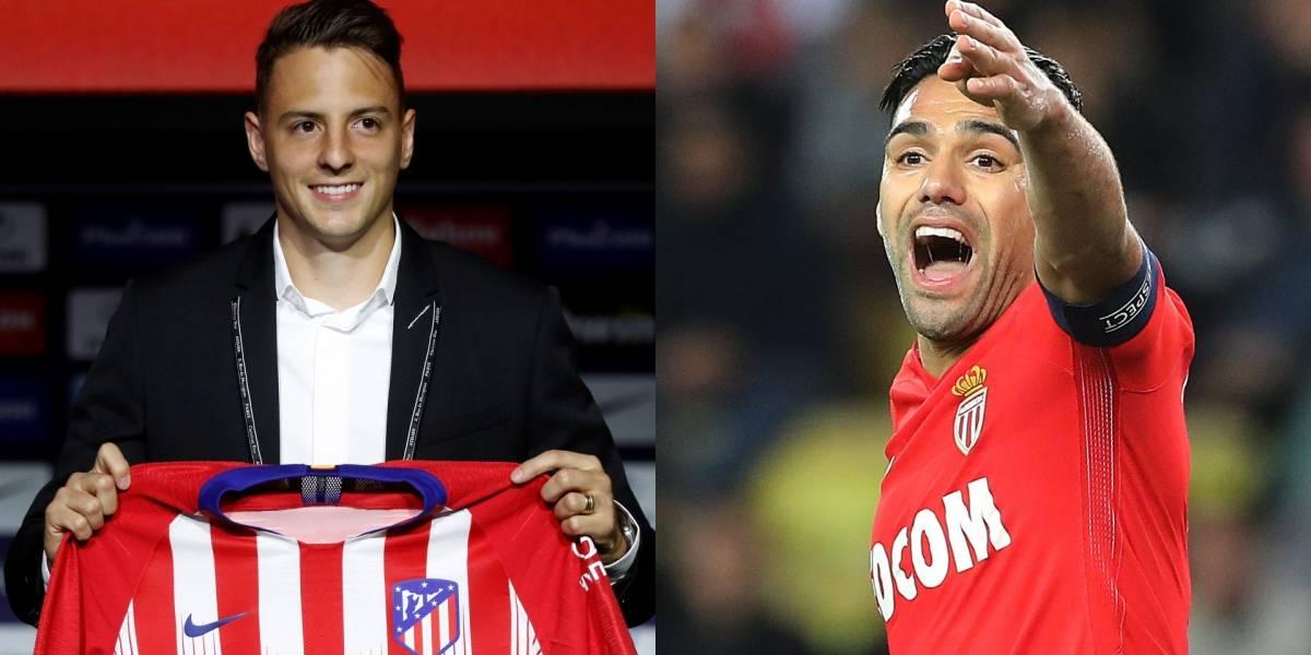 ¡Las contundentes palabras de Falcao que convencieron a Santiago Arias a fichar con el Atlético de Madrid!