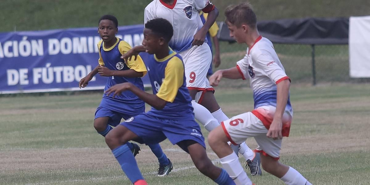Santa Lucía es campeón de torneo de fútbol U 14