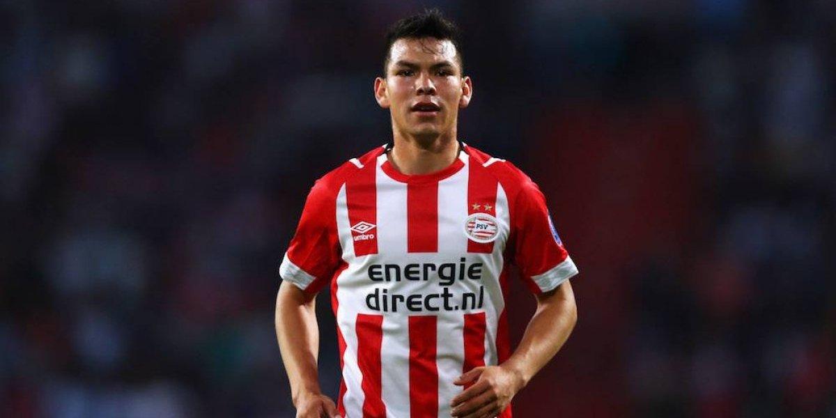 Chucky Lozano, en el 11 ideal de la Eredivisie