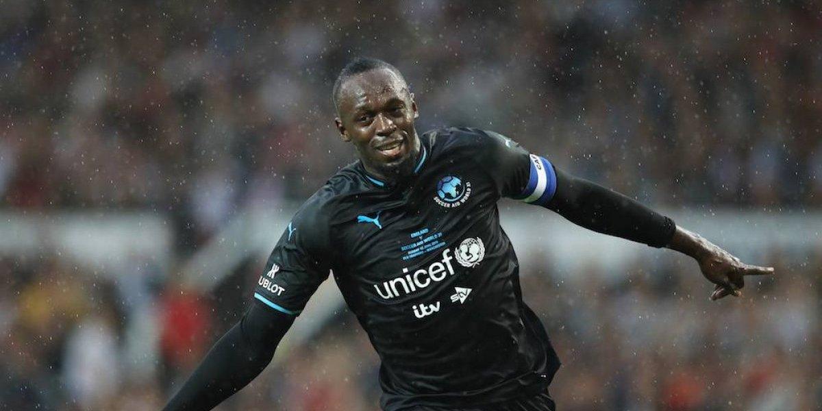 La curiosa petición de Bolt al club de futbol con el que entrenará