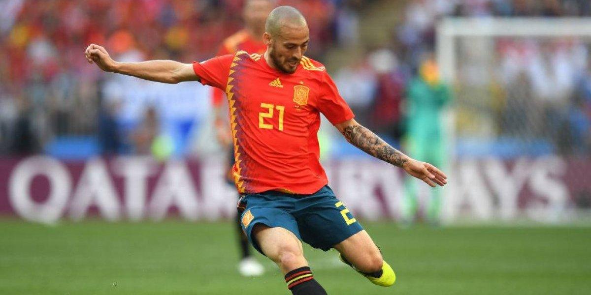 Se suma a Iniesta y Piqué: David Silva se retira de la selección de España