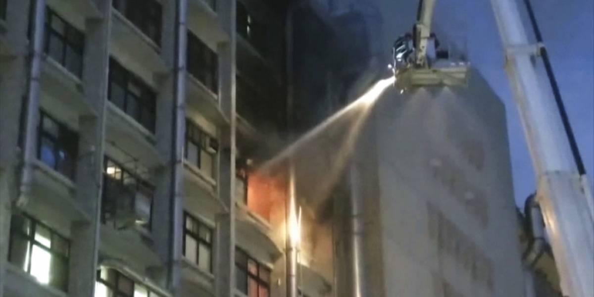 Incendio en hospital deja al menos 9 muertos en Taiwán
