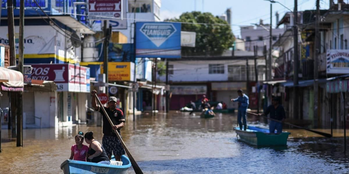 Crece más de 550% los afectados por lluvias y calor en México