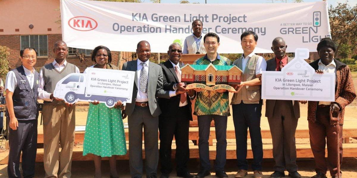 Kia Motors sale en ayuda de las comunidades africanas