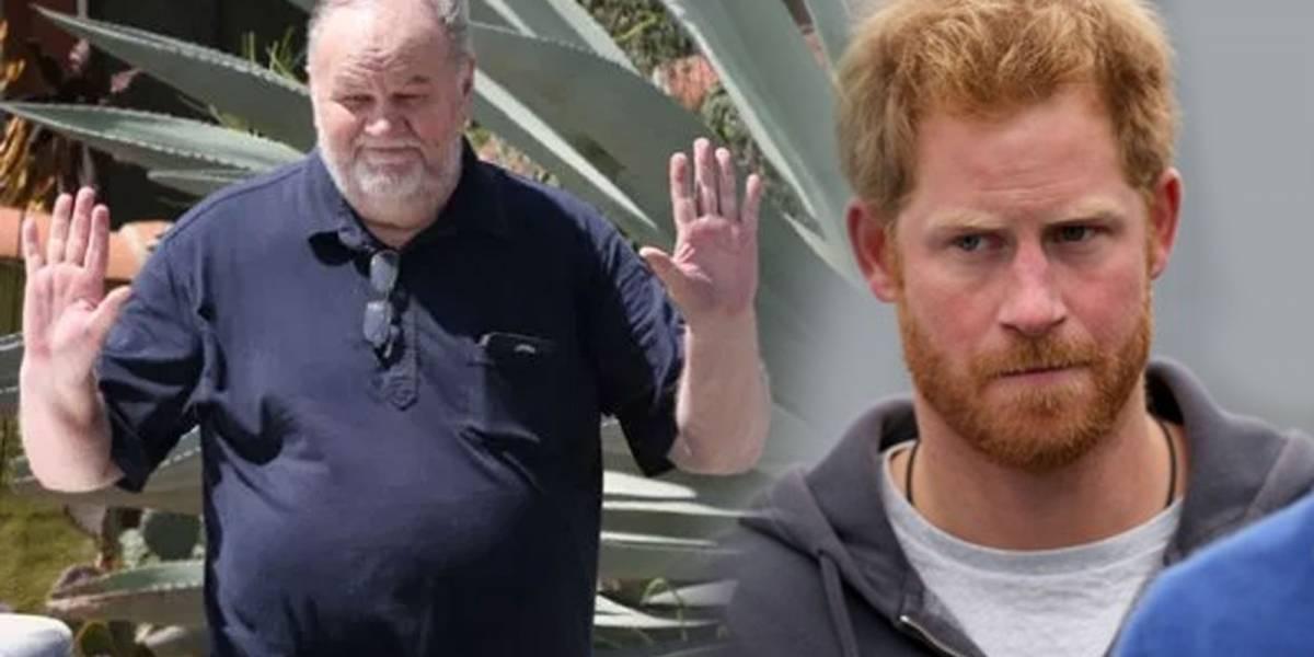 La dura amenaza que Harry habría hecho al padre de Meghan Markle