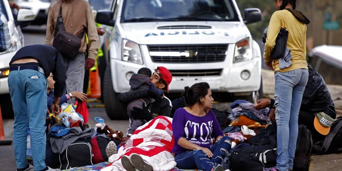 Migrantes venezolanos en Quito fueron trasladados a Centros Temporales de Tránsito