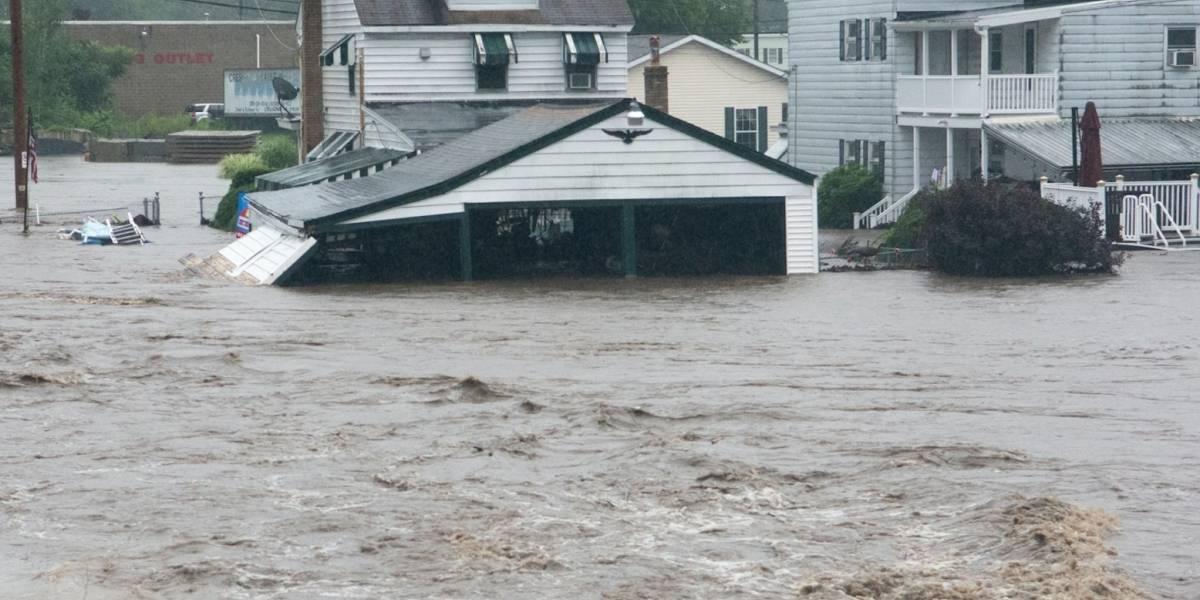 Fuertes lluvias inundan partes de Pensilvania