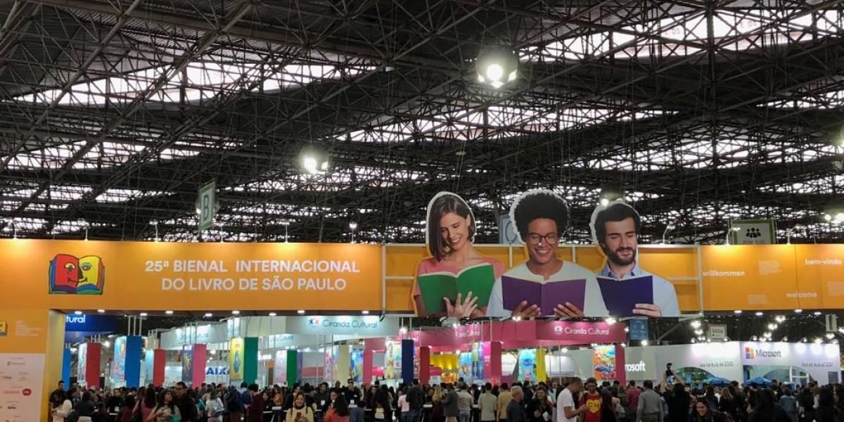 Bienal do Livro de São Paulo muda de local em 2020