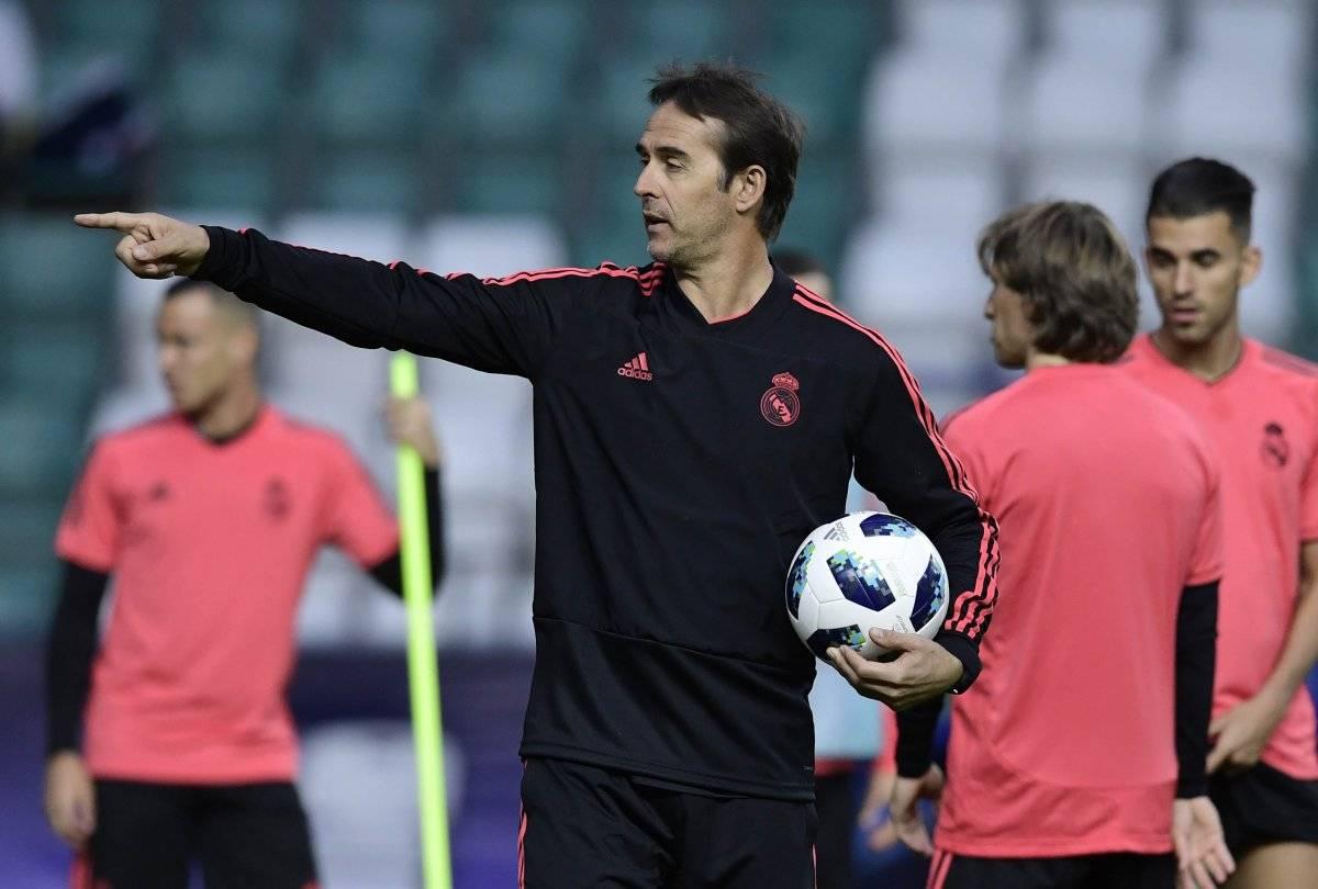 Lopetegui tiene su primer desafío como técnico del Madrid