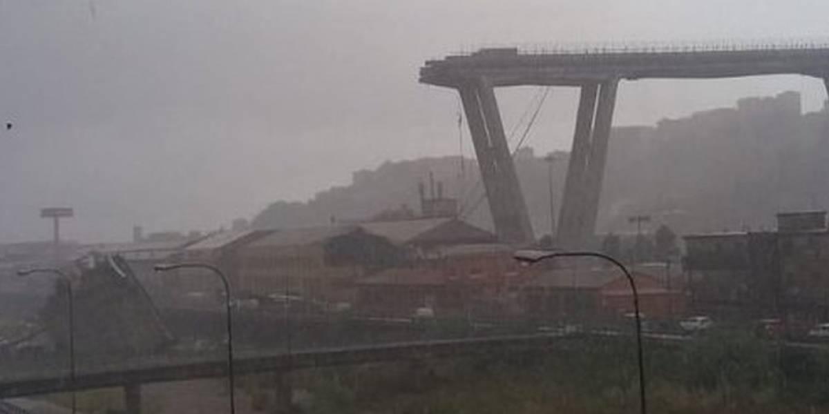 Elevan a 22 los muertos tras derrumbe de puente en Génova, Italia
