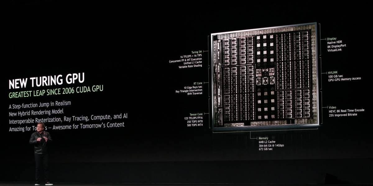Oficial nvidia presenta turing su nueva arquitectura for Arquitectura hardware