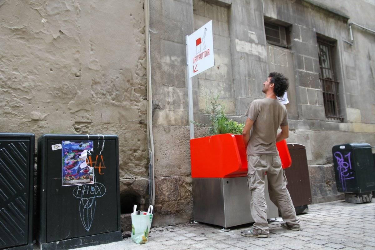 urinario ecológico en Francia