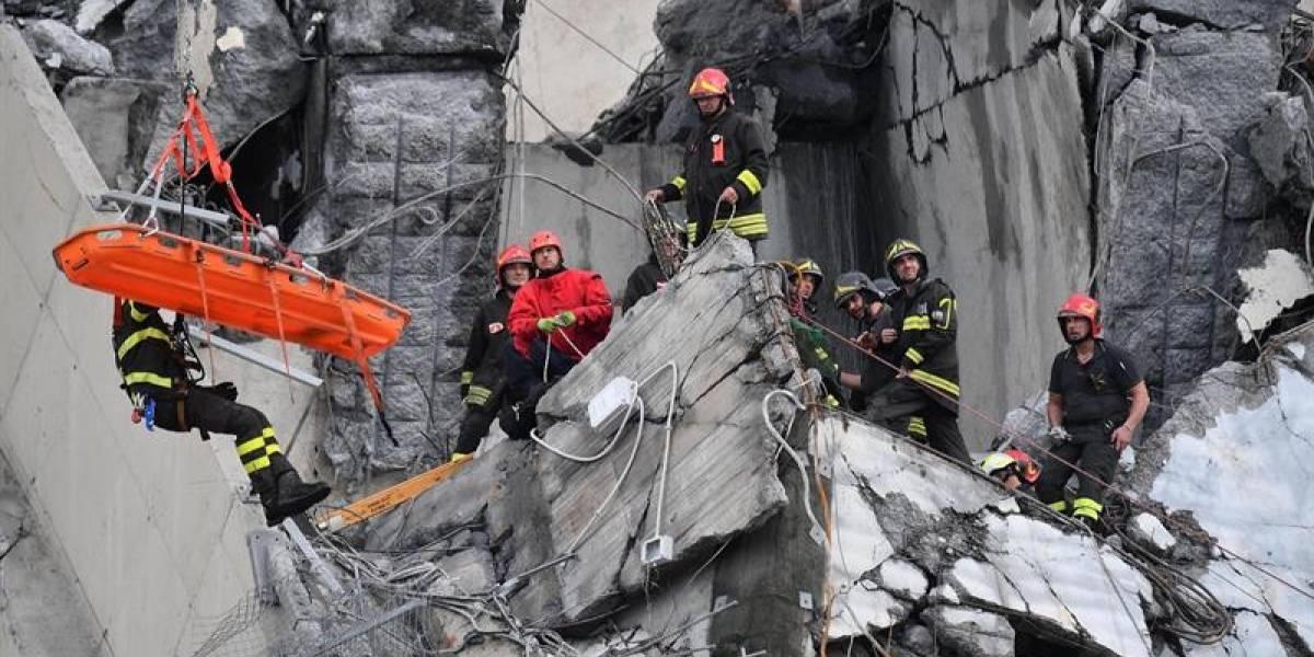 Se activa línea telefónica para migrantes ecuatorianos tras desplome de puente en Italia