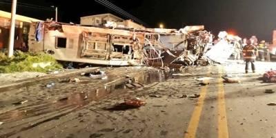 Un bus con ciudadanos venezolanos y colombianos sufrió un fatal accidente