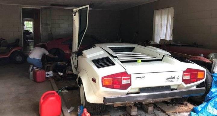 Lamborghini Countach y Ferrari 308
